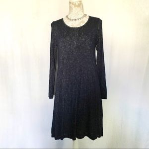 Velvet by Graham & Spencer // Navy Shift Dress S